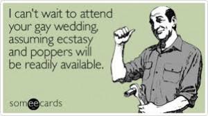 Gay poppers wedding