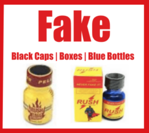 how to know fake poppers